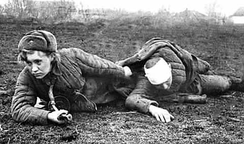ВОВ - героический образ военных медиков